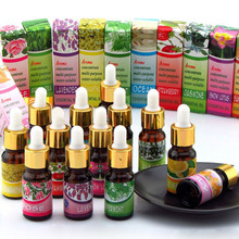 5pcs/lot Aroma Plant Water Soluble Essential Oil,Used For Humidifier Aromatherapy Lamp,Fresh Air, Calm Relaxation 10ml/Bottles