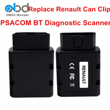 Great Offer PSA COM Renault-COM Auto Scanner PSACOM Bluetooth OBDII Diagnostic Tool For Renault Replace Full Chip Gold Can Clip