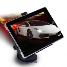 1 Pcs 7 inch GPS Car Navigation 4GB Capacity UK EU AU NZ Maps Speedcam POI with Sunshade(China)
