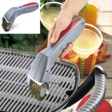Barbecue tools Cordless Motorized BBQ Grill Cleaning Brush Cleaner silicon basting brush
