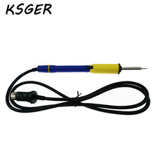 KSGER T12 Soldering Handle For HAKKO FX951 with T12-ILS Electronic Solder Soldering Iron Tips FM2028 WITH NO LOGO