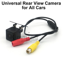 Universal Rear View Camera Reversing Parking Rearview Backup Camera HD Night vision Wire RCA CCD Accessories 2010 2011 2012 2013