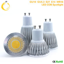 E27 E14 GU10 GU5.3 MR16 12V High Brightness 9W 12W 15W Store lights Cob led bulb lamp Warm/Cold White lampada led 110v 220V