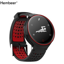 Hembeer H2 Smart Bracelet Swimming Blood Pressure Oxygen Heart Rate Monitor 3 colors Fitness Tracker Sport Activity Tracker(China)