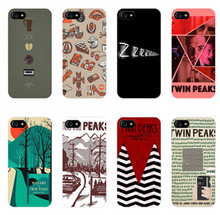 fire walk with me twin peaks Printed Luxury Mobile Phone Cases OEM For iPhone 6 6S Plus 7 7 Plus 5 5S SE Soft Rubber Cover(China)