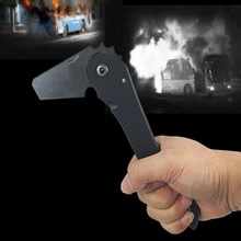 Stainless steel outdoor Camping axe, fire fighting, tactical survival axe, multifunctional folding axe, EDC handy tools.