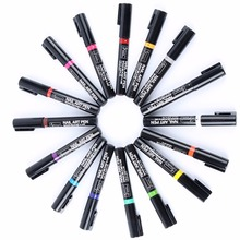 Beauty Nail Art Pen Polish Painting Dot Drawing UV Gel Design Manicure Tools 19 Colors