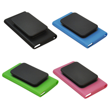 Etmakit Hot Sale Slim Soft TPU Silicone Rubber Skin Case Cover Holder Clip For iPod Nano 7(China)