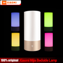 Buy Stock Original Xiaomi Mijia Yeelight Night LED Smart Lights Indoor Bedside Lamp Remote Touch Control Smartphone App control for $57.02 in AliExpress store