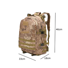 55L 3D outdoor Bag Outdoor Sport Military Tactical climbing mountaineering Backpack Camping Hiking Trekking Rucksack Travel
