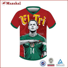 2015 New Design Dye Sublimation Soccer Jerseys Cheap(China)