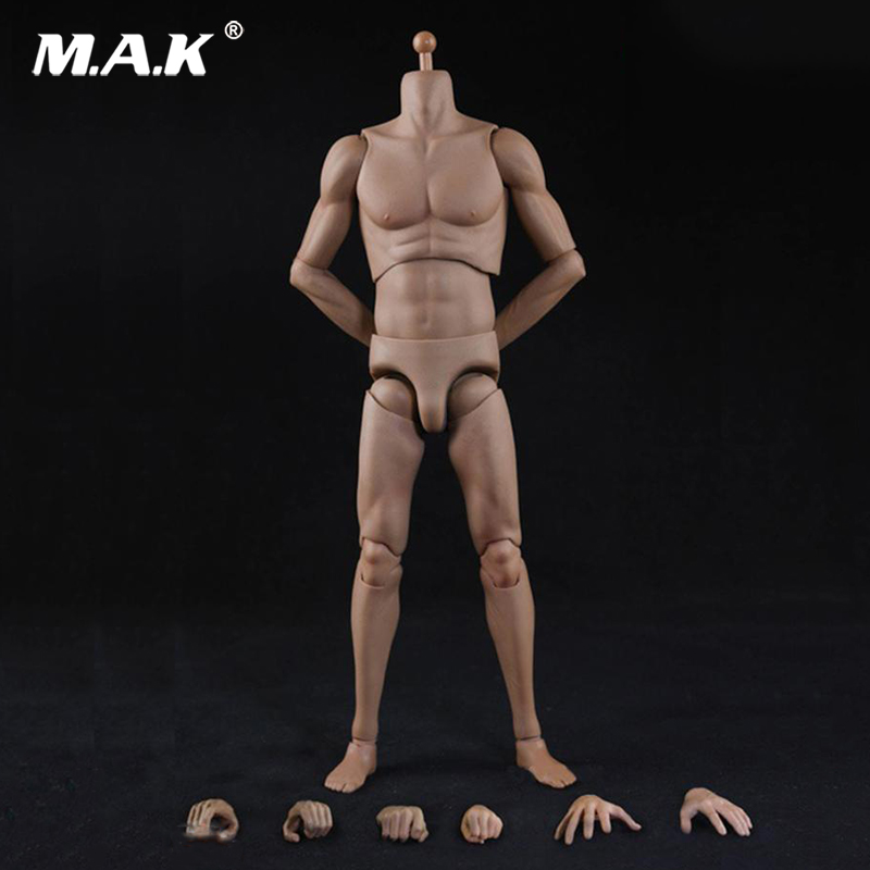 1:6 Scale Male Sports Body Model White Skin Super Flexible  for 12 inches Action Figure<br>