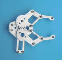 1set Metal Robotic Arm Gripper Robot Mechanical Claws Robot Accessories For Arduino Compatible with MG995 SG5010 Wholesale(China)