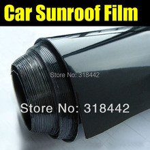 High Glossy Black Roof  Vinyl Film with  Air Free Bubbles 1.35m*5m free shipping