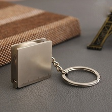 Newest Pocket Practical Tape Measure Key Chain 1PCs Fashion Cute Keyring Key Fob Accessories(China)