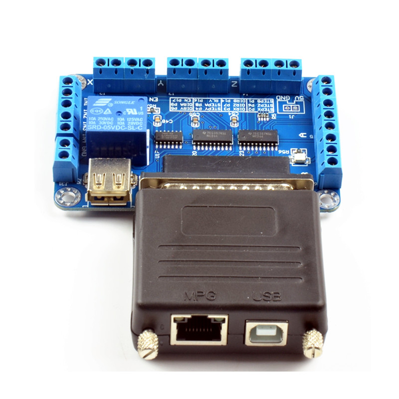 mach3 Parallet Port TO USB (7)