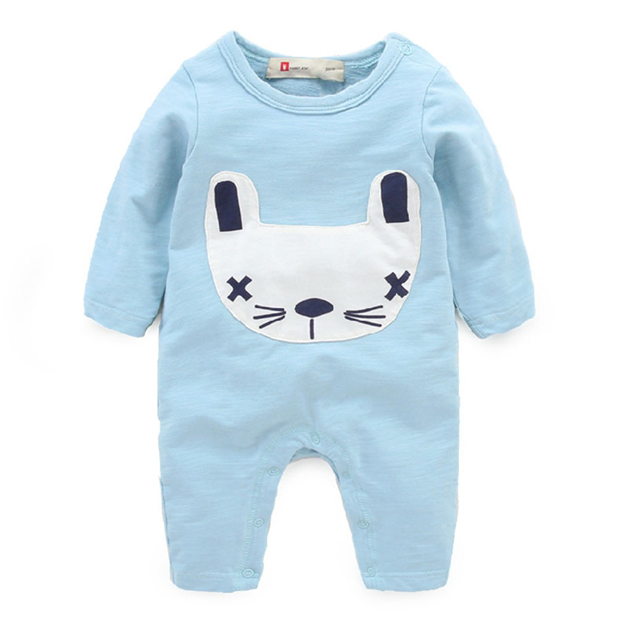newborn baby clothes and cotton pajamas romper baby wear long sleeved clothes spring<br><br>Aliexpress