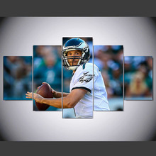 DAFENJINGMO ARTS 5 panel Modern hd Sam Bradford print canvas art wall framed paintings for living room wall picture(China)