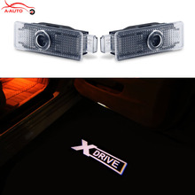 2 x LED Logo Ghost Shadow Projector Car Door Courtesy Laser Light For BMW E60 E90 F10 X1 X3 X5 X6 E65 E66 E67 E68 F01 F02 E89 Z4(China)