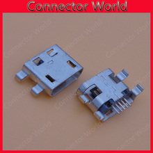 for Huawei G510 c8813 G520 Y300 T8951 C8650 U8661 micro usb connector jack socket for Alcatel One Touch OT-6030D A E OT6030 6030