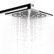 12 Inch (30 CM) Stainless Steel Square Rain Shower Head. 556 Holes Water Out Rainfall Showerheads (Not Including Shower Arm)(China)