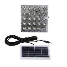25 LEDs 6V 1W Solar Panels Camping Lamp Rechargeable Motion Sensor Outdoor Lighting Devices For Garden LED Solar Powered Lamps(China)
