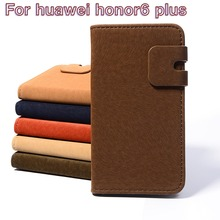 New Design Multifunction Flip Leather Phone Cases For Huawei Honor6 Plus Honor 6 Plus Business Flip Holster Shell Housing