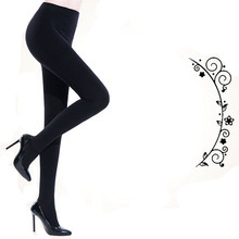 Buy Hotsale Women Black Sexy Pantyhose Autumn Winter Warm Tights Stockings Step Foot seamless high elasticity nylon hosiery 7414