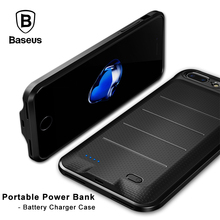 Baseus Battery Charger Case For iPhone 6 6s 7 Plus 2500/3650mAh Portable External Battery Backup Power bank Case for iPhone 7(China)