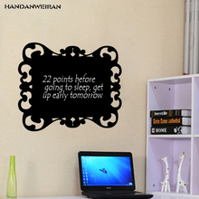 New Hollowed out Blackboard sticker 45*60cm children room Writing room home personality decorative wall stickers(China)