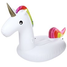 Outdoor Inflatable Air Garden Sofa Giant Unicorn Floating Rideable Swimming Ring Float Environmentally Summer Water Air Raft(China)