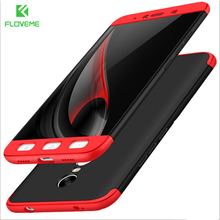 FLOVEME Luxury Case For Xiaomi Redmi 4X Note 4 4X 3 in 1 Combo Ultra Thin Phone Cover For Xiaomi 5S 6 mi5 mi6 i7 Fitted Case Bag