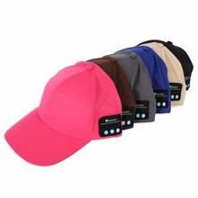 50pcs Bluetooth Music Earphone Hat Baseball Caps Sun hat sunhat With Bluetooth Travel Sports Bluetooth Headset Stereo Headphones
