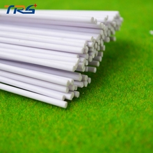 2mm architectural model making DIY sand table model material model rod ABS round rod sticks plastic solid rod(China)