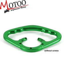 Motoo - Rear Passenger Handle Bar / Gas Tank Grab Bar for KAWASAKI ER 6N Z1000 Z750 Z800 ZX-6R ZX-10R ZZR600 ZRX1200(China)