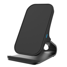 CHUNFA Qi Wireless Charger for iPhone X Desktop Phone Stand Fast Charger Dock Wireless Charging for iPhone 8 8 Plus Qi Charger(China)