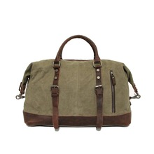 New Mens Canvas Travel Bag Large Duffel Bag Army Green Travel Handbags Good Quality Bags Women Male Luggage Bag(China)