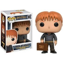 Official Harry Potter - Fred Weasley with Bag Vinyl Figure Collectible Toy with Original box(China)