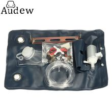Washer Bag with 12V Kit Pump Universal Car Style Auto Windscreen Windshield Fluid Jet For Classic Cars