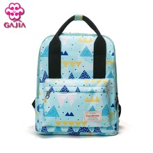 GAJIA 2017 NEW factory outlet school bags for generic high quality college style backpack men and women casual canvas backpack