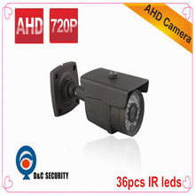 DC Security 1.0 MP 720P AHD CCTV Tester 1200TVL IR bullet Outdoor China Security Camera(China)