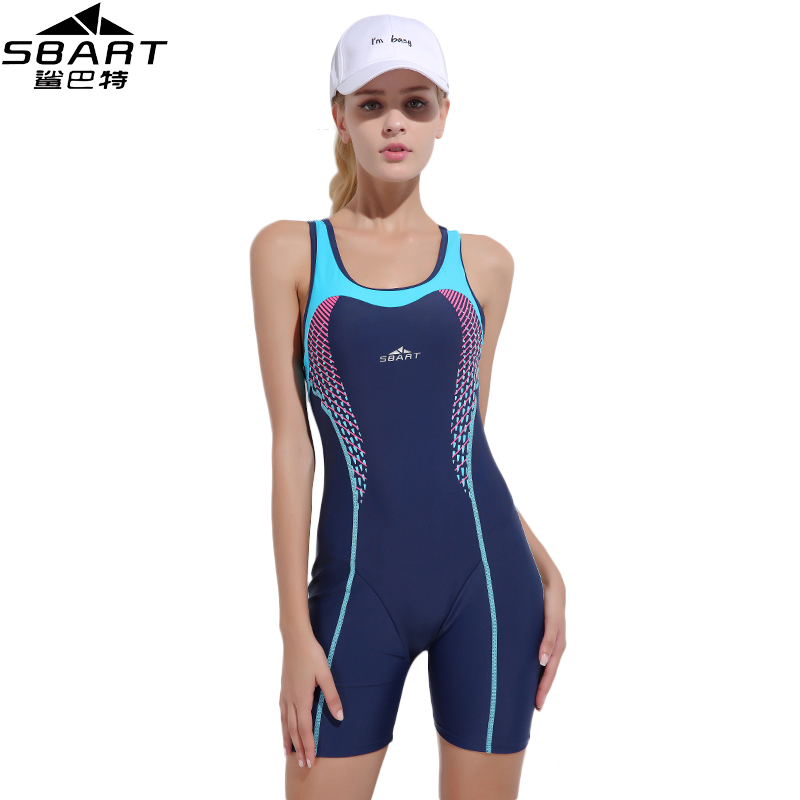 SBART Professional One-Piece Suits Quick-drying swimsuit Women Swimming Competition Plus Size Swimsuit chest Padded Swimwear<br>