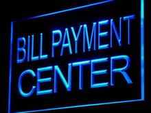 i917 Bill Payment Center Lure Adv Ad Shop Light Sign On/Off Swtich 20+ Colors 5 Sizes(China)