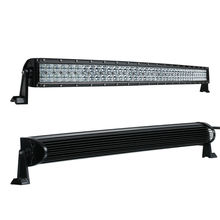 5D 42 Inch 400W Curved LED Light Bar 12V 24V Combo Beam for Offroad Boat Car Truck ATV SUV 4WD 4x4 Work Lamp