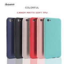 iboann Scrub candy soft gel silicon tpu case for VIVO X9 X9S X7 X6 plus X20  V5 Y67 Y66 Y55 V3 MAX Y53 Y69 V7 phone cases cover ff5b82d48760