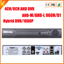 AHDM DVR 4Channel 8Channel AHDNH CCTV AHD DVR Hybrid DVR/1080P NVR 4in1 Video Recorder For AHD Camera IP Camera Analog Camera