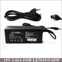 19V 3.42A 65W Battery Charger Carregador Notebook For Lenovo IBM IdeaPad u110 u350 y330 y430 y510 y510a E42G E42L E43L(China)