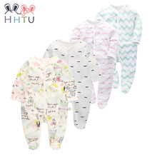 HHTU 2017 Baby Clothing New Newborn Baby Boy Girl Romper Clothes Long Sleeve Infant Product Fashion Autumn Lovely(China)