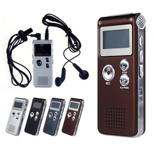 Professional 8GB Mini Digital Voice Recorder USB Flash Driver 650Hr Rechargeable Dictaphone Radio Grabadora Audio MP3 Player
