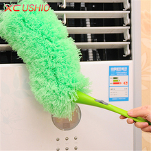 Household Microfiber Cleaning Duster Detachable Office Car Dust Brush Bendable Cleaning Brush Anti Static Cleaning Tools(China)